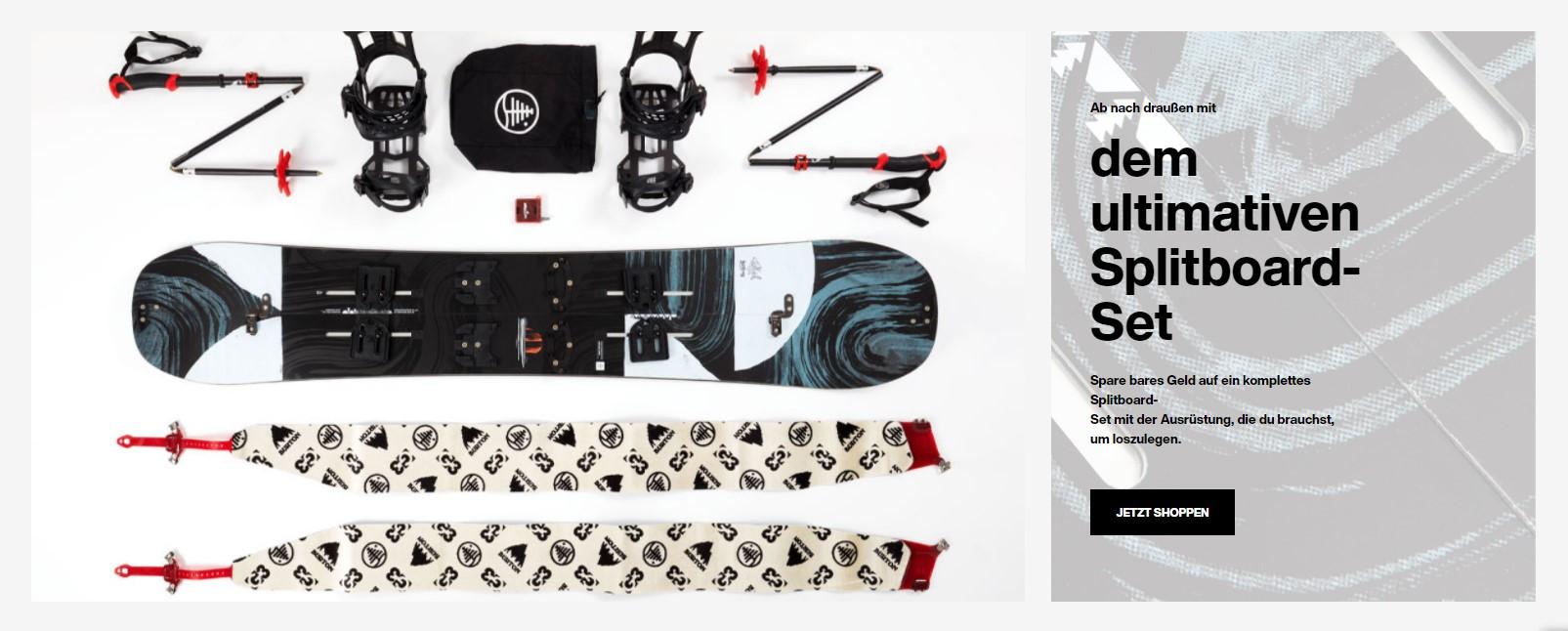 Bei Burton Snowboards mit einem Rabattcode sparen