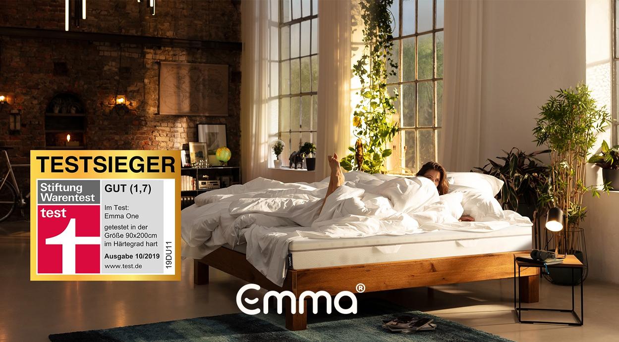 Der Testsieger Emma One