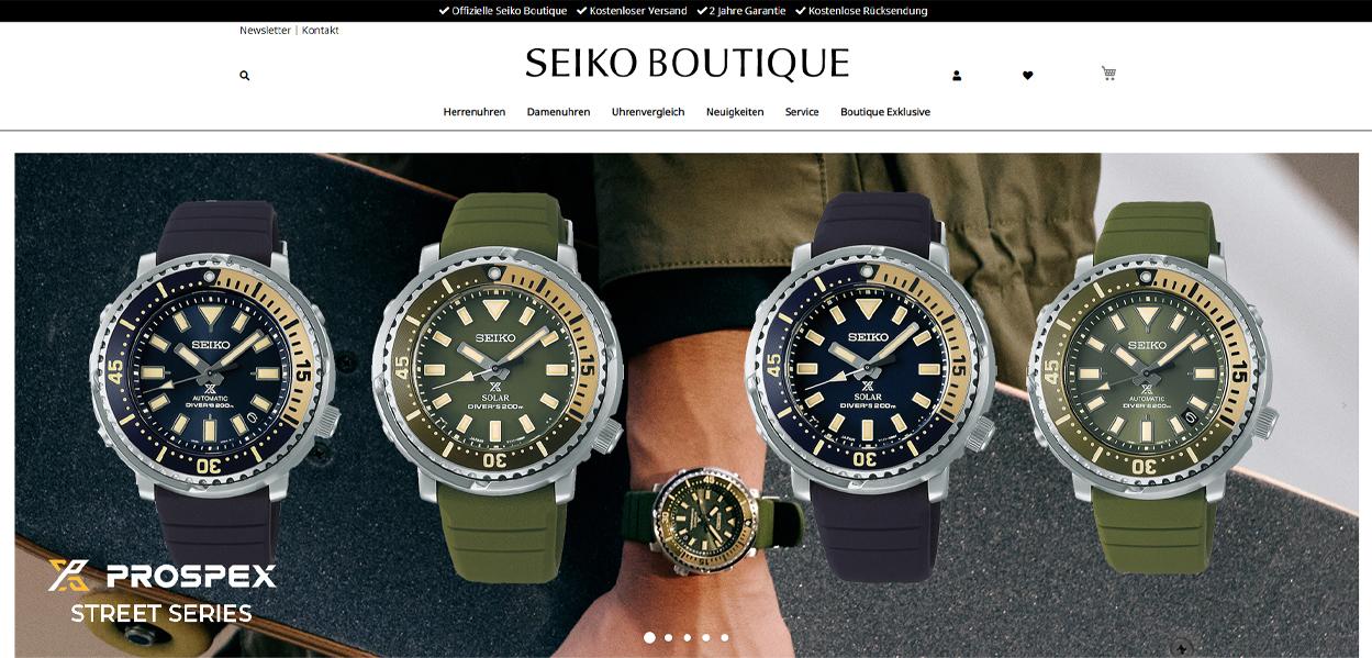 Seiko Startseite