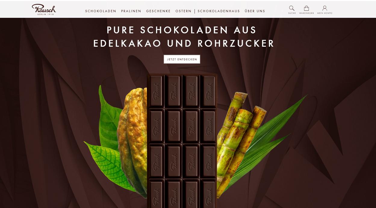 Rausch Schokoladenhaus Startseite