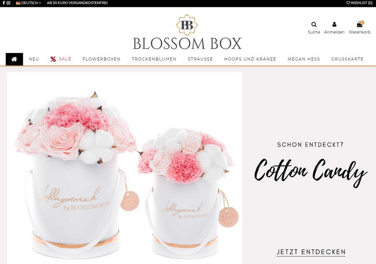 Blossom Box Startseite