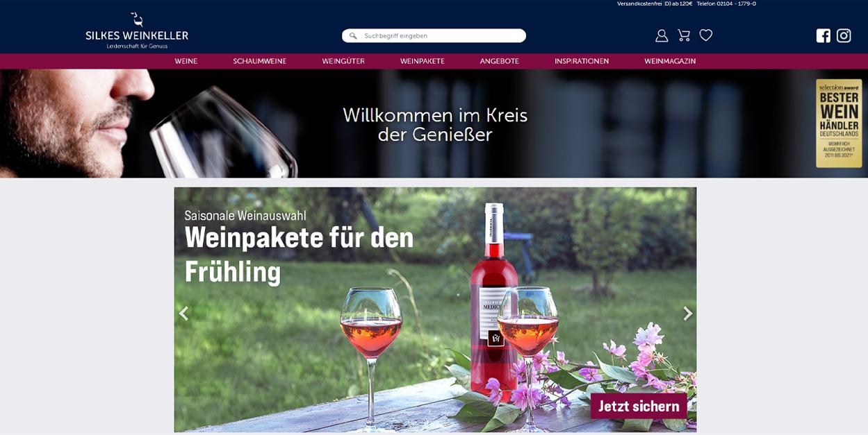 Silkes Weinkeller Startseite