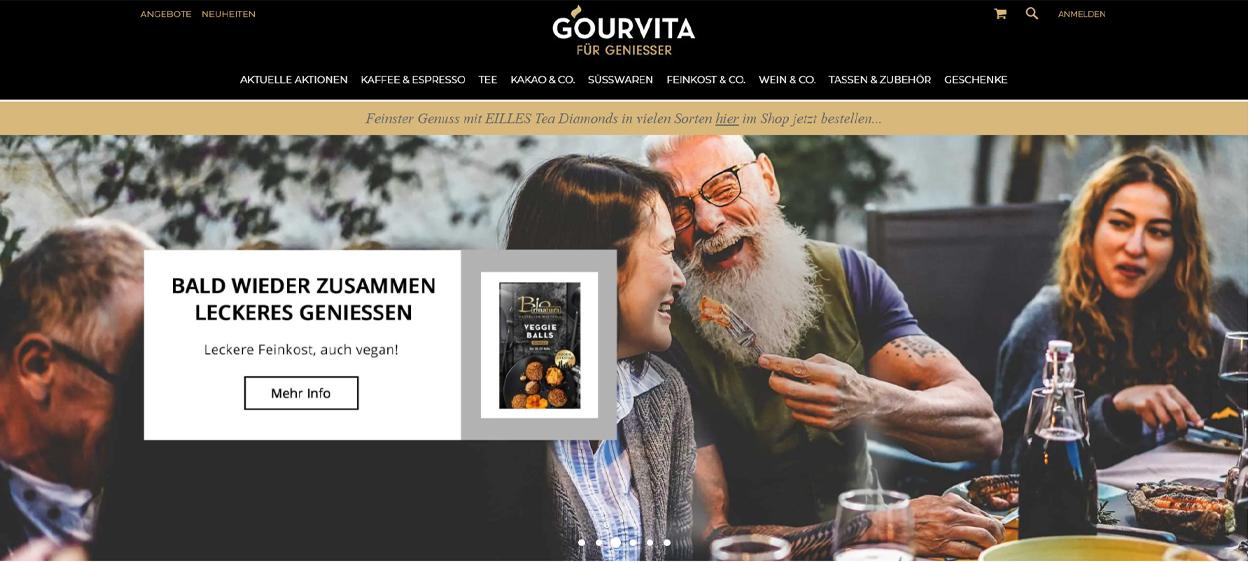 GOURVITA Startseite