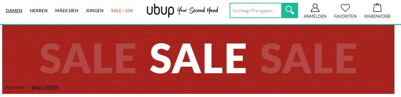 Der Sale von Ubup
