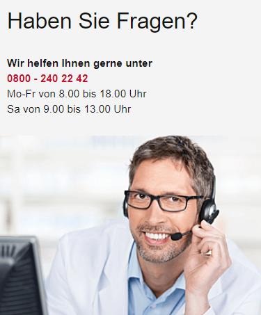 Der Kontakt zu fliegende-pille.de