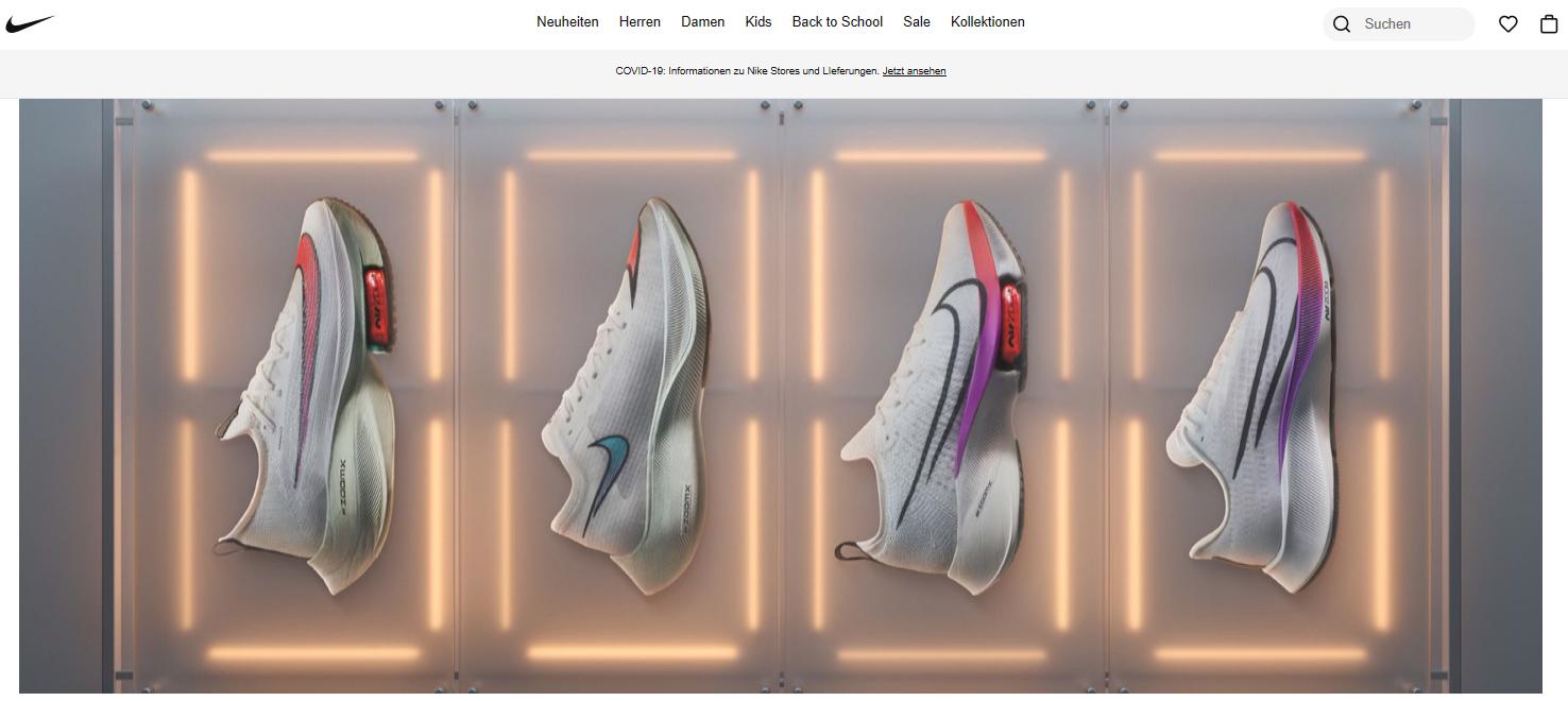 Nike Gutschein sichern und Sportmode sowie Sneakers mit Rabatt shoppen